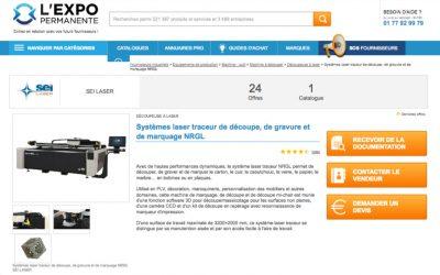 SEI Laser France en Expo Permanente