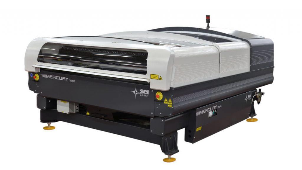 SEI Laser Mercury, la découpe laser