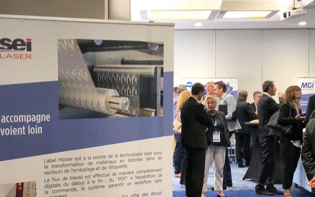 SEI Laser était aux 33emes Rencontres UNFEA à La Rochelle pour parler découpe laser et micro perforation d'étiquette adhésive