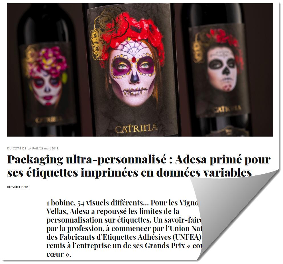 SEI LASER fournisseur laser d'Adesa imprimeur d'étiquettes
