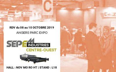 SEI Laser au SEPEM Angers Centre Ouest du 8 au 10 octobre 2019