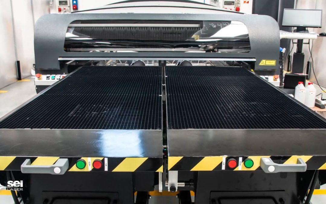 Système SEI Laser Mercury - découpe de plastique et métaux