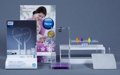 PLV & découpe laser : Nordic Plast plébiscite le système Flexi Blu