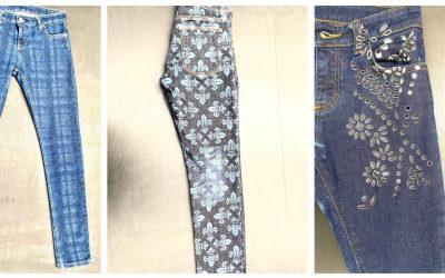 Textile et mode : Les Teintures de France, heureux propriétaire d'une SEI Laser Flexi Denim