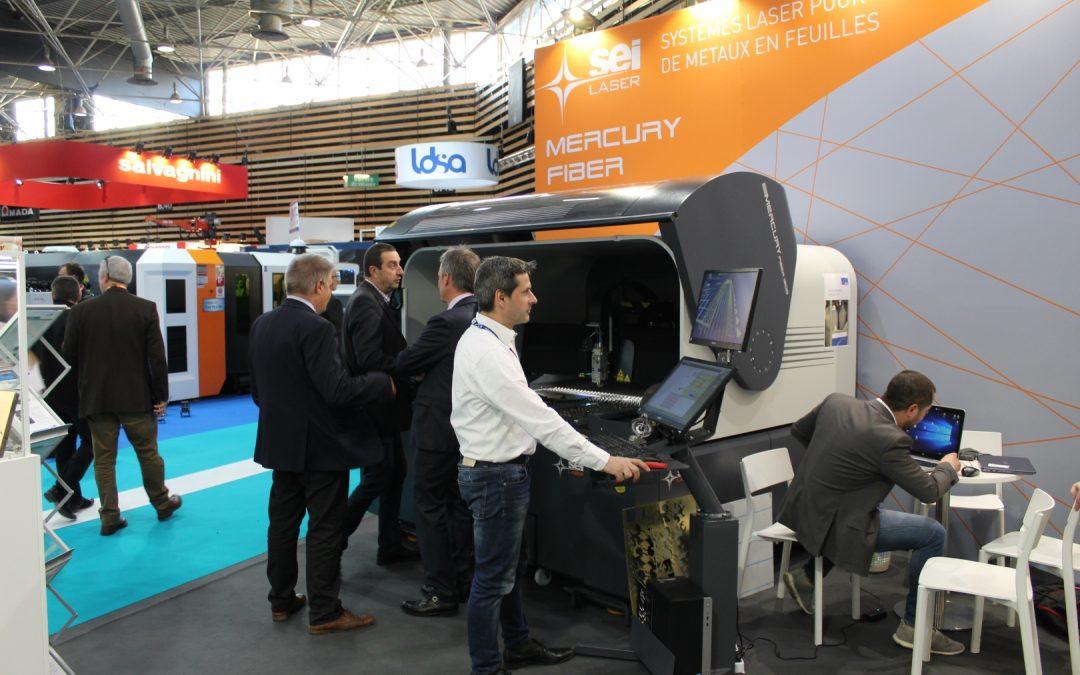 SEI Laser à Tolexpo 2021, sur le stand Hall 6 N13